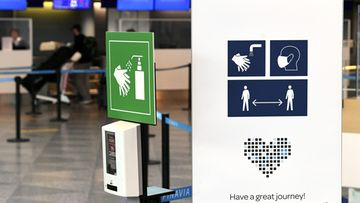 LK26.04.2021 Lentokenttä, Helsinki-Vantaa, matkustaminen