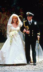 Sarah ja Andrew häät 1986