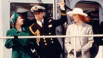 Kuningatar Elisabet ja Yorkin herttuapari 1991