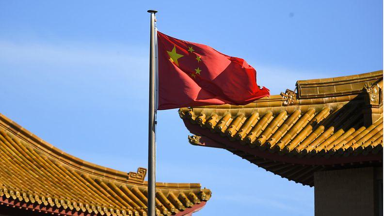 LK 1.5.2021 Kiinan lippu