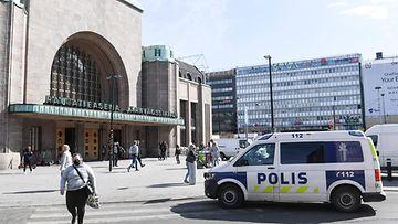 AOP poliisi rautatieasema