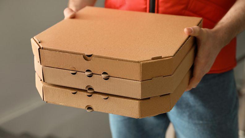 shutterstock pizzalähetti