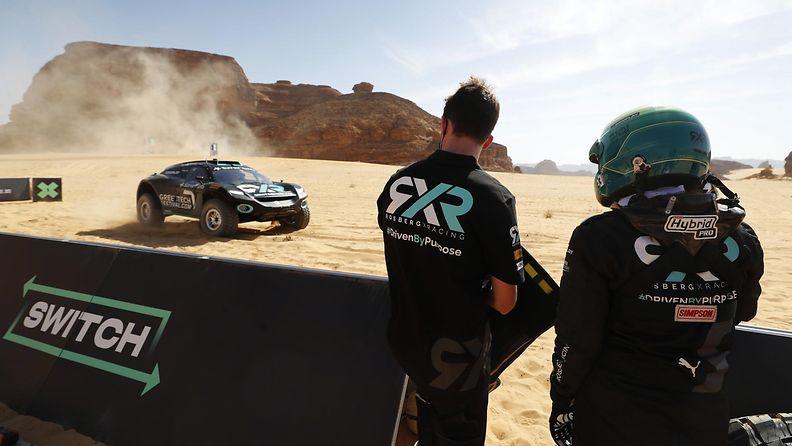 Rosberg X Racing vauhdissa Extreme E -kisassa Saudi Arabiassa
