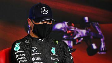 Valtteri Bottas Espanjan GP:n aika-ajojen jälkeisessä lehdistötilaisuudessa
