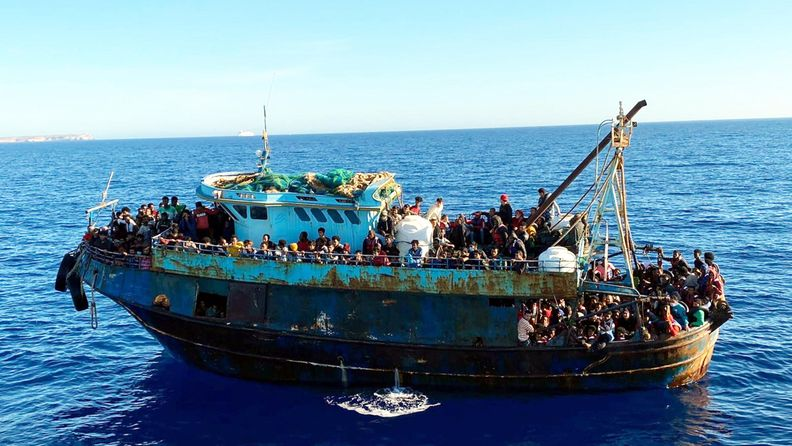 Lampedusa aop vene