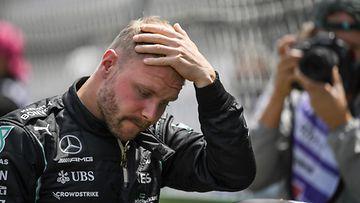 Valtteri Bottas kuvattuna ennen Portugalin GP:n starttia