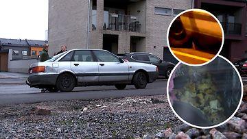 Idyllistä helsinkiläisaluetta piinaa rottia kuhiseva auto – asukkaat ja kaupunki ovat tilanteessa voimattomia