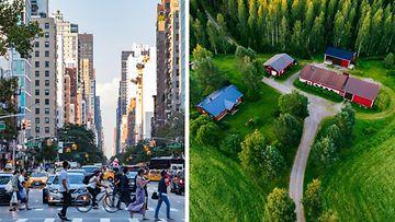 Kaupunki ja maaseutu