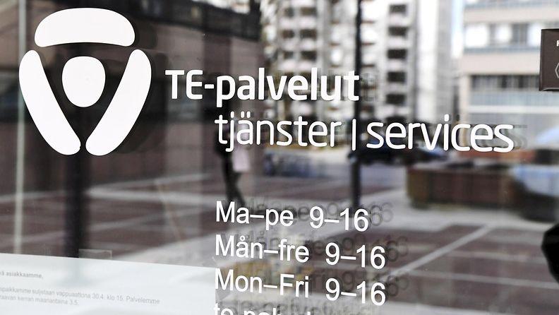 Helsingin Pasilan TE-toimisto.