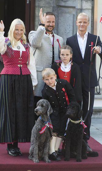 AOP Norjan kruununprinssin perhe