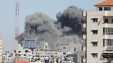 Israel-ohjusisku-AP