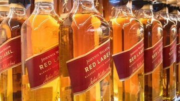 Johnnie Walker Red Label -viski.
