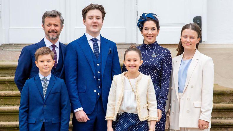 AOP Tanskan kruununprinssin perhe 15.5.2021