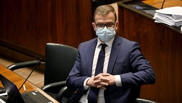 Kokoomuksen puheenjohtaja Petteri Orpo eduskunnan täysistunnossa
