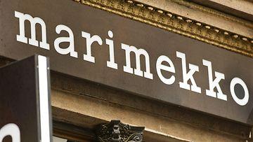 Marimekon Mikonkadun myymälä Helsingissä.