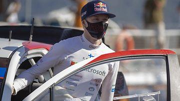 Kalle Rovanperä kuvattuna ensimmäisellä WRC-kaudellaan Turkin MM-rallissa