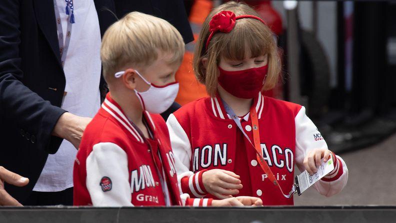 AOP Monacon kaksoset Jacques ja Gabriella