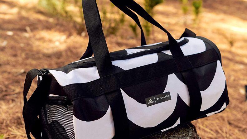 Marimekko Adidas yhteistyömallisto laukku