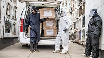 LK: Peru, Etelä-Amerikka, koronavirus, suojavarusteet