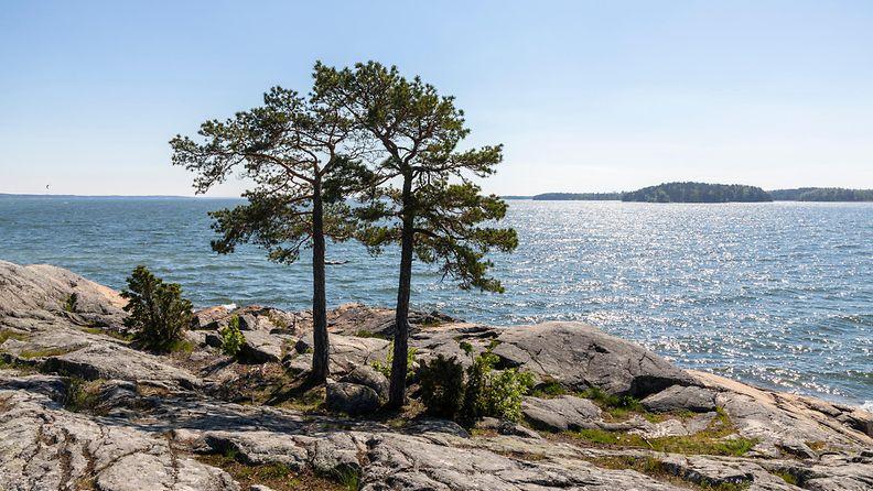 AOP meri ranta saari saaristo kesä