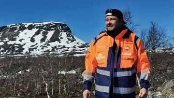 Mika Lemberg kävelee Kilpisjärveltä Keravalle