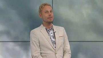 MTV Uutisten meteorologi Aleksi Jokela
