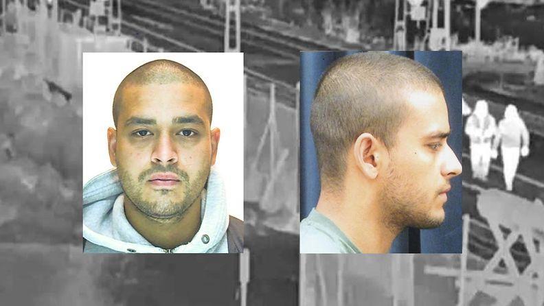 Europolin julkaisemat kuvat murhasta tuomitusta Roman Rasoulista.