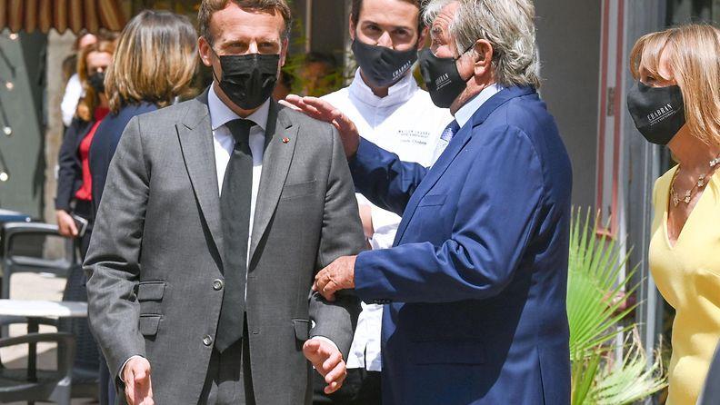 Macron afp 0806