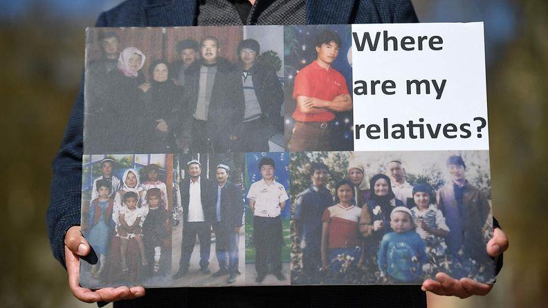 Uiguurien mielenilmaus.