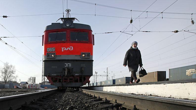 Siperian rautatie.