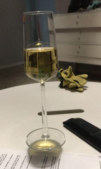 optinen viinilasi-illuusio
