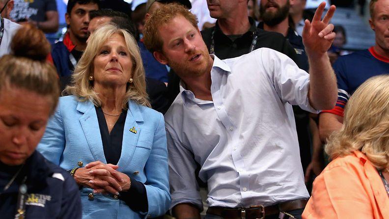AOP Jill Biden ja prinssi Harry