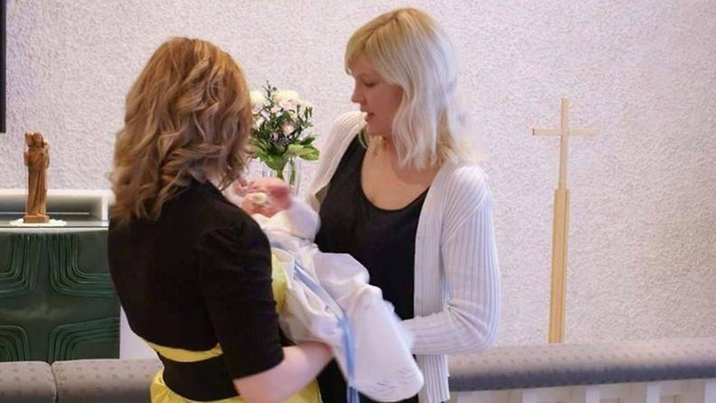 Janna ja vauva