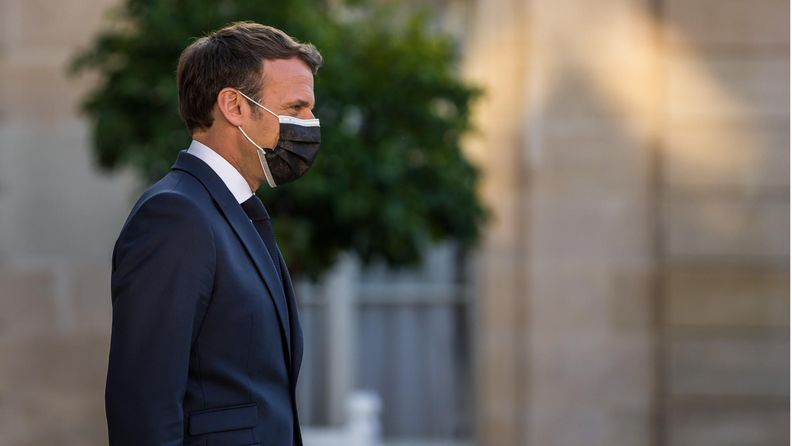 AOP Emmanuel Macron 10.6.2021
