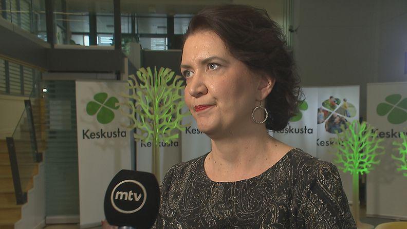 Keskustan puoluesihteeri Riikka Pirkkalainen