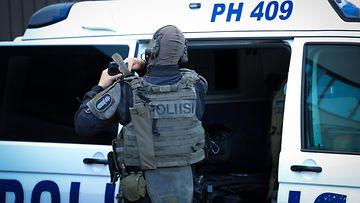 Hämeen poliisi valmistautuu operaatioon 1