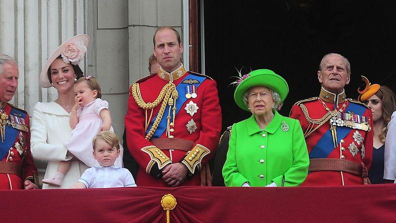 Prinssi William, kuningatar Elisabeth