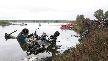 JAK-42-lentokone rysähti maahan heti nousun jälkeen