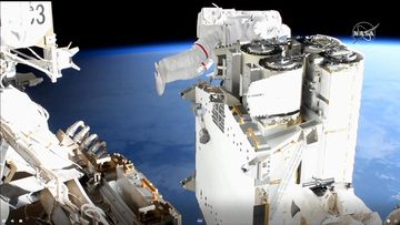 ISS astronautti LK