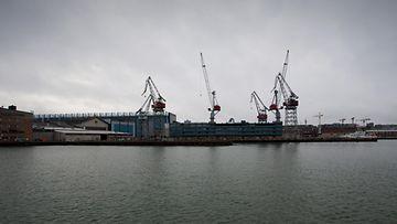 AOP Helsinki Shipyard -telakka.