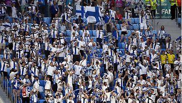 LK Huuhkaja fani jalkapallo EM-kisat Pietari