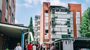 Savonlinna palanut kerrostalo 1 LK 26.6.2021