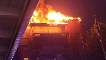 Savonlinna kerrostalo tulipalo Samu Silventoinen