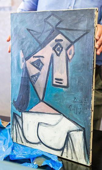 Kreikassa poliisi on löytänyt Picasson varastetun maalauksen. Taideaarre ehti olla kateissa liki vuosikymmenen. 2