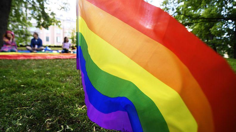 Suomessa vietetään Pride-viikkoa.