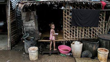 Lapsi Myanmarissa LK 2.7.2021