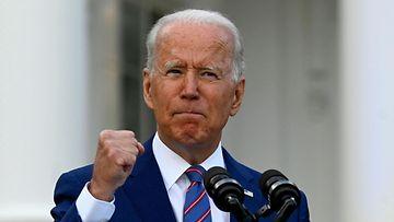 Joe Biden piti itsenäisyyspäivän puheen.