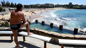 Australialaisella rannalla hai hyökkäsi miehen kimppuun.