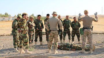 Suomalaissotilaita Irakissa LK 7.7.2021
