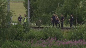 Ruotsi junaonnettomuus TV4 (1)